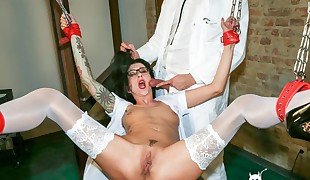 BADTIME STORIES - Tattooed brown-haired shares BDSM dreams