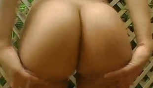 Two very beautiful and raunchy gals share one muscled inflexible penis