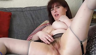 Fur covered mature mother waiting for your cock