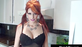 Horny Housewife Shanda Fay Gets Her Juicy Wet Snatch Tucked