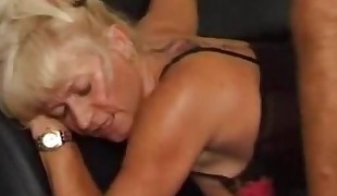 I am Pierced Mature in sexy lingerie and stocking Pierced p