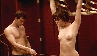 Dakota Johnson Topless Whipping Episode On ScandalPlanetCom
