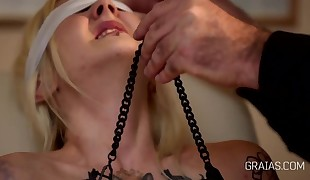 New slave presents to master