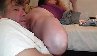 tammy gets her wet swollen pussy bj'ed till she cums