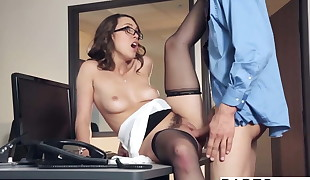 Babes - Office Obsession - Chris Johnson and Jade Nile - The
