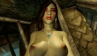 3d Sex with female orc