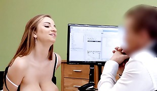 LOAN4K. Hot girl with ginormous boobs looking for a loan