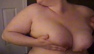Cum Shower For Busty BBW MILF In Stocking