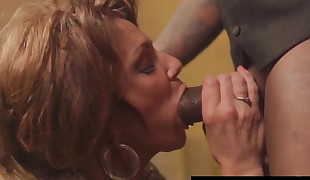 Hot Mature Cougar Deauxma Gets Pummeled By A Big Black Cock!
