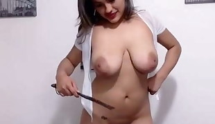 dayana smacking tits-  play