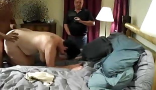 Cuckold Witnesses Wifey With Young Big black cock &, Cleans Creampie