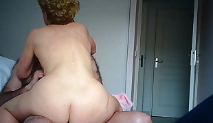 Other Nurse',s big ass jiggling orgasm for hiddencam