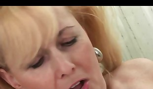 Mature bitch and a youthfull stupid used playthings