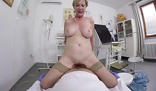 doctor Point of view sex with hairy mom